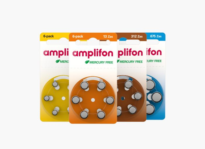 Amplifon hearing aid batteries
