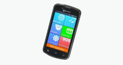PowerTel M9000: amplified mobile phone