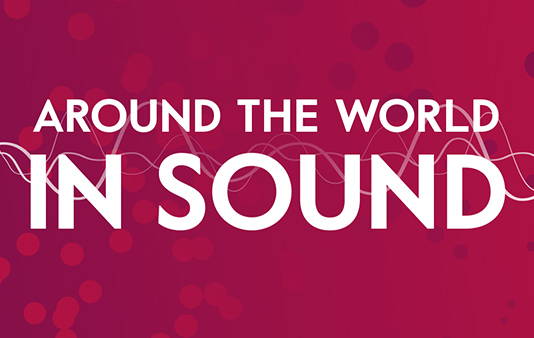 Try our Around the World in Sound game and share your results with your friends.
