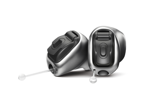 Find out more about the NEW Invisible hearing aid Virto B90 Titanium, Phonak's smallest hearing aid