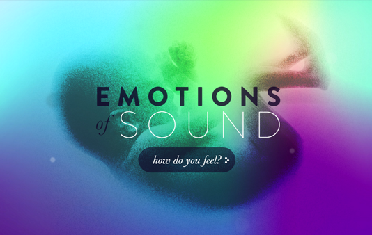 Emotions of Sound