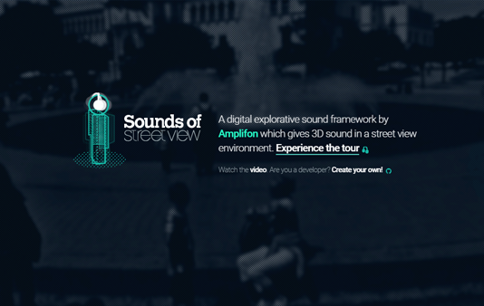 Sounds of Streetview