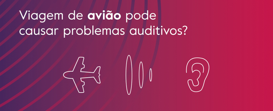 Problemas auditivos no aviao